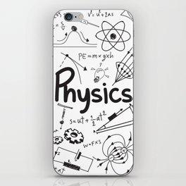 physics iPhone Skin