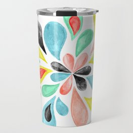Watercolor Splash  Travel Mug
