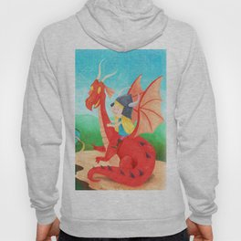 The Girl and The Dragon Hoody
