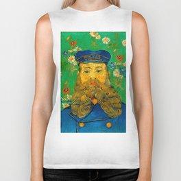 """Vincent van Gogh """"Portrait of Joseph Roulin"""" Biker Tank"""