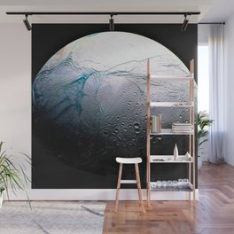 Saturn's moon Enceladus Space Mission Fly-by Photograph No. 3 Wall Mural