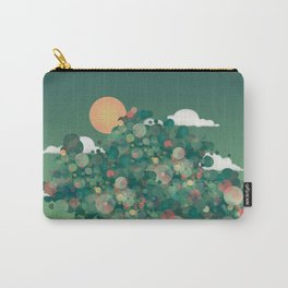 Toughts and dreams.Woman portrait Carry-All Pouch
