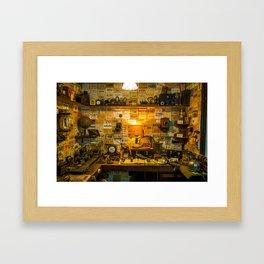 Wireless. Framed Art Print