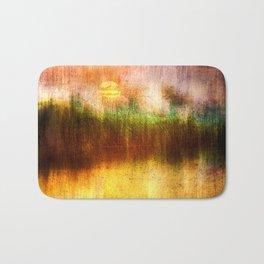 Concept Digital painting : The lake Bath Mat
