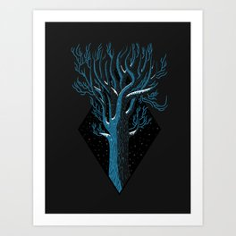 In Winter Art Print
