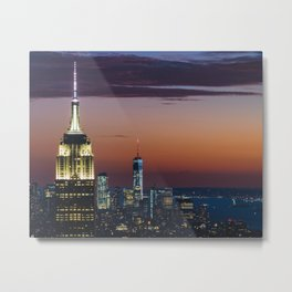 Top Of The Rock II Metal Print