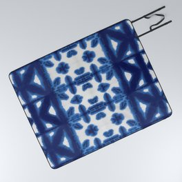 Royal Pima Shibori Picnic Blanket