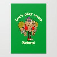 bebop Canvas Prints featuring Bebop by Giovanni Costa