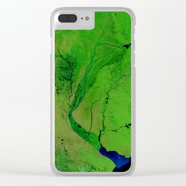 Floods in Argentina Clear iPhone Case