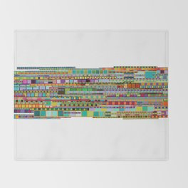 The Transit of Spring Throw Blanket