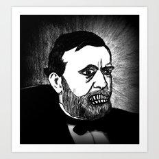 18. Zombie Ulysses S. Grant  Art Print
