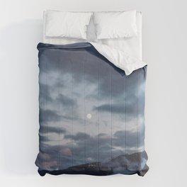 quietly, moon Comforters