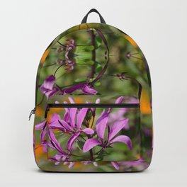 PASTEL PURPLE FLOWER  Backpack