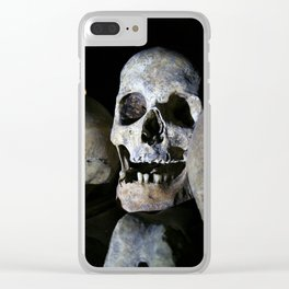 decomposition Clear iPhone Case