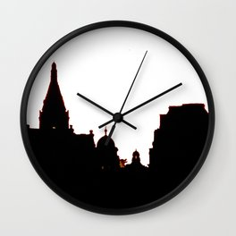London Skyline bywhacky Wall Clock