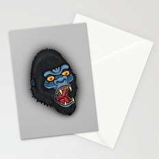 Traditional Angry Gorilla  Stationery Cards