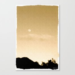 Gold 4 Canvas Print