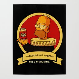 To beer or not to beer Poster
