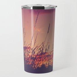 Llandaff Meadow Sunset Travel Mug