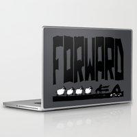 reassurance Laptop & iPad Skins featuring Forward by TehStr4ngeOnes