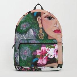 Frida cat lover Backpack