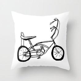 Schwinn Stingray Bicycle Throw Pillow