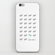 Be You - Zebra Print iPhone & iPod Skin