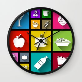 Gastro Windows 8.1 Wall Clock