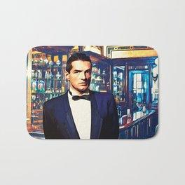 Falco at the Cafe Bath Mat