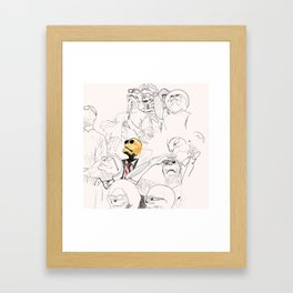 Front Row for Doomsday Framed Art Print