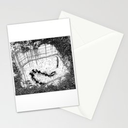 asc  833 - La reine de la jungle (Swimming hazards) Stationery Cards