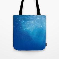 Looking Up at the Ocean Tote Bag