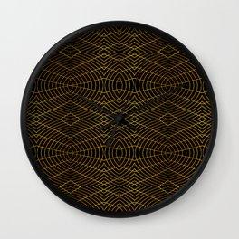 Futuristic Geometric Design Wall Clock