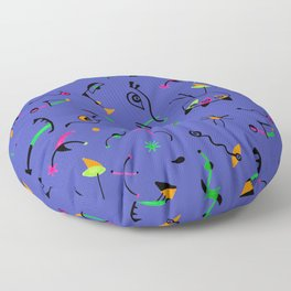 Miro Pattern Floor Pillow