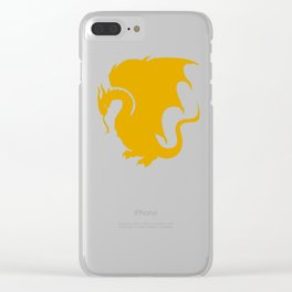 Pendragon Wyvern Clear iPhone Case