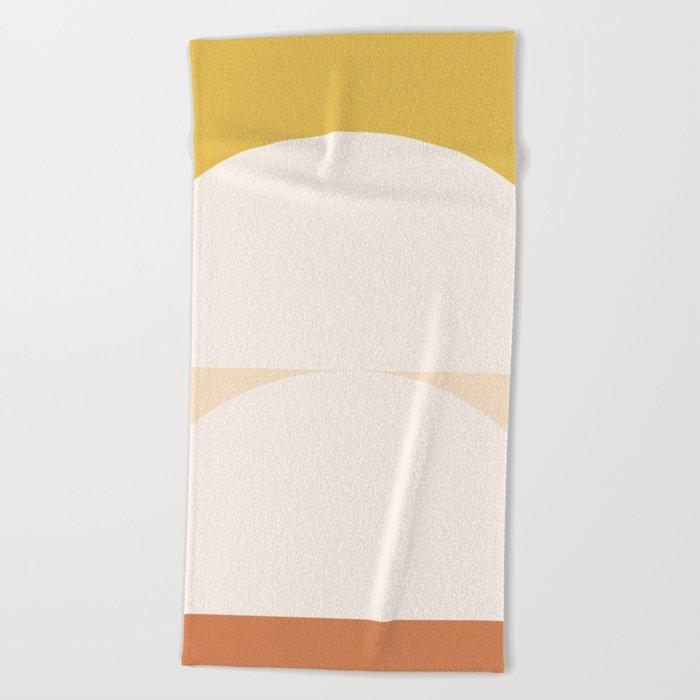 Abstract Geometric 01 Beach Towel
