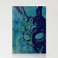 donnie darko Stationery Cards featuring Donnie Darko by Giuseppe Cristiano