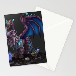 Deviant Dungeon Lurker Stationery Cards
