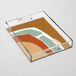 // Reminiscence 02 Acrylic Tray