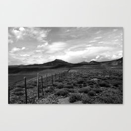 looking northwest. Canvas Print