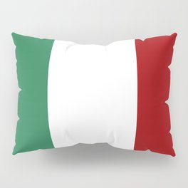 Italian Flag Pillow Sham