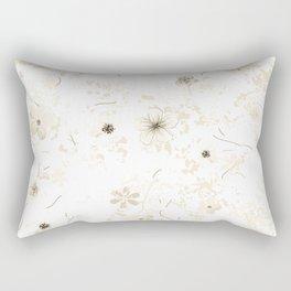 Festive watercolor flowers 23 Rectangular Pillow