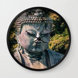 Great Buddha of Kamakura - Kamakura Daibutsu  - Kotoku-in Wall Clock