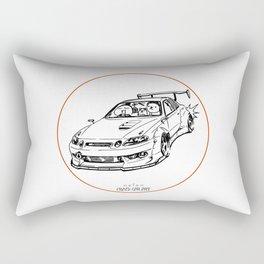 Crazy Car Art 0039 Rectangular Pillow