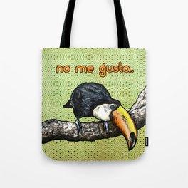 No Me Gusta Toucan- Sassy Bird Tote Bag