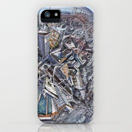 City of the planet iPhone Case