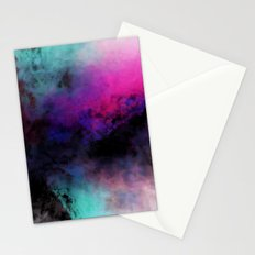 Neon Radial Dreams Stationery Cards