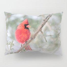 Winter's End Cardinal Pillow Sham
