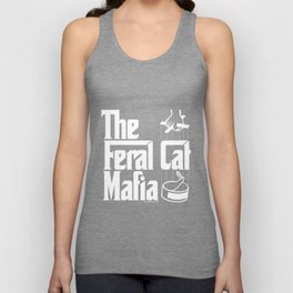 The Feral Cat Mafia Unisex Tank Top