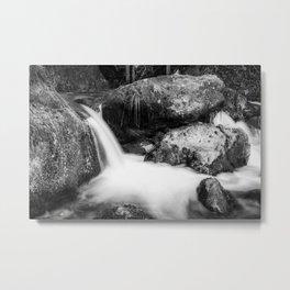 Alpine winter, Austria Metal Print